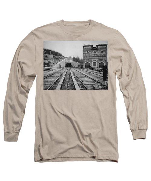 Dyckman Street Station Long Sleeve T-Shirt