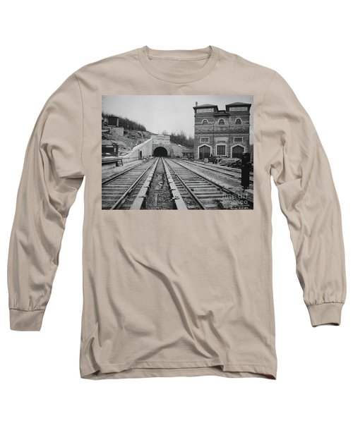 Long Sleeve T-Shirt featuring the photograph Dyckman Street Station by Cole Thompson