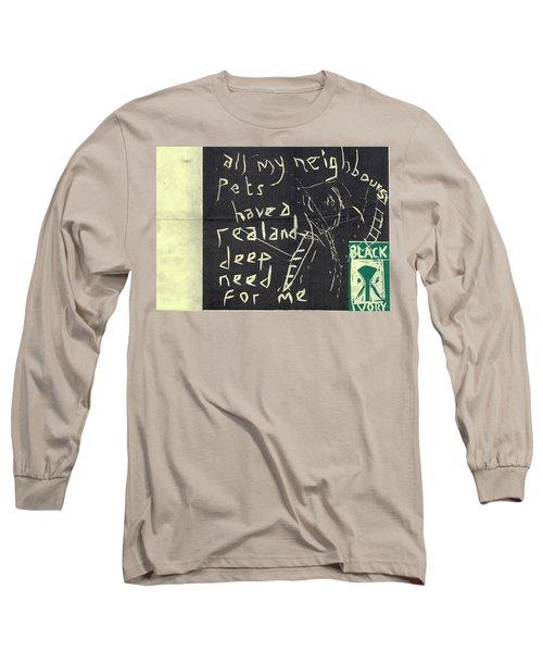 E Cd Main Reverse Long Sleeve T-Shirt