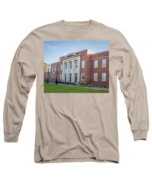 E K Long Building Long Sleeve T-Shirt by Gregory Daley  PPSA