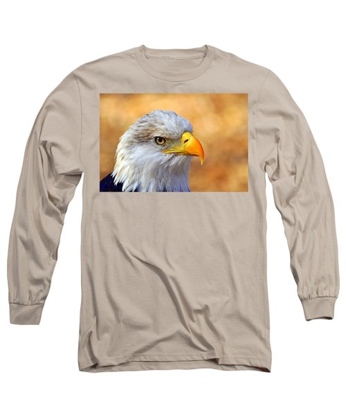 Long Sleeve T-Shirt featuring the photograph Eagle 7 by Marty Koch