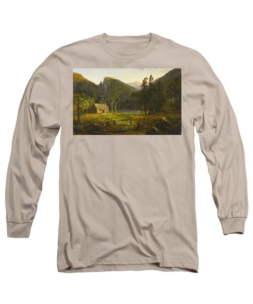 Eagle Cliff, Franconia Notch, New Hampshire Long Sleeve T-Shirt