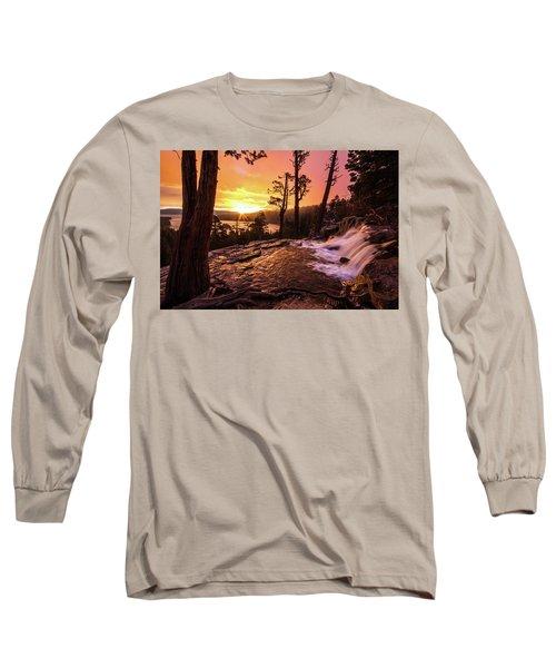 Eagle Falls Sunrise Long Sleeve T-Shirt