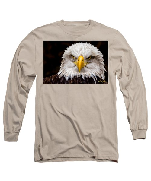 Defiant And Resolute - Bald Eagle Long Sleeve T-Shirt