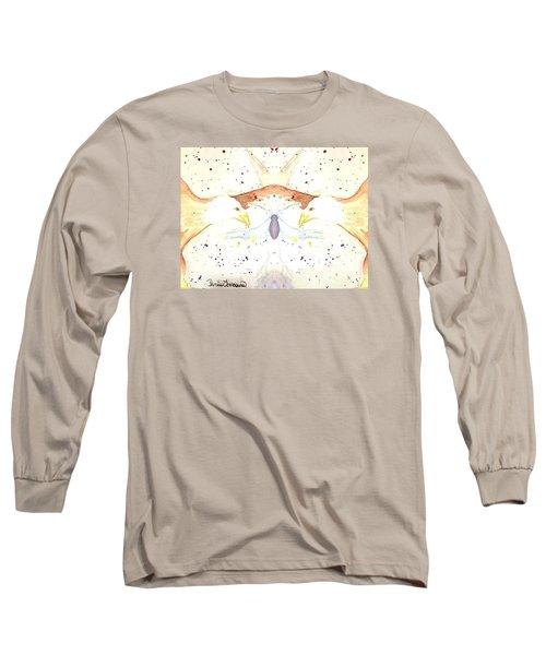 Eagles Bond Long Sleeve T-Shirt by Denise Tomasura