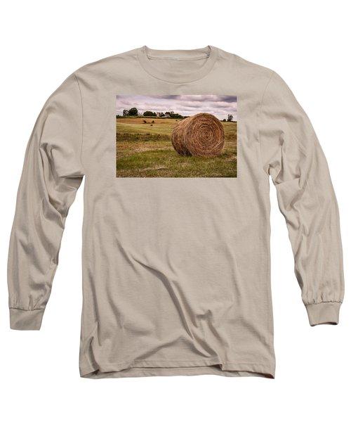 Early Autumn Long Sleeve T-Shirt by Wayne King
