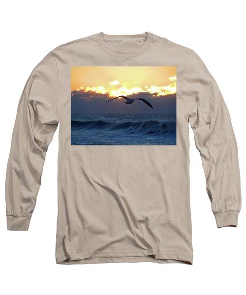 Early Bird Long Sleeve T-Shirt by Newwwman