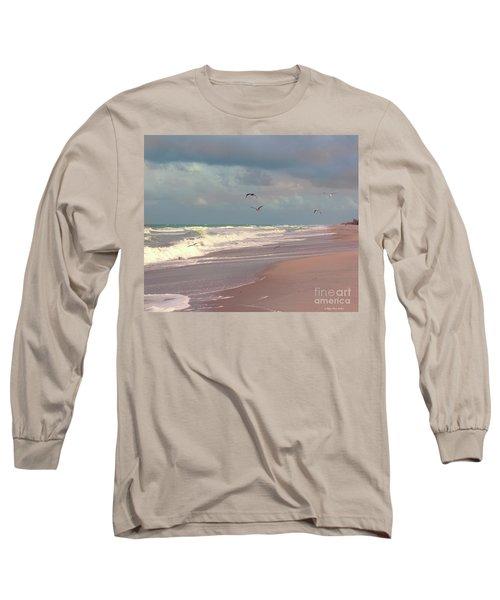 Early Evening Long Sleeve T-Shirt by Megan Dirsa-DuBois