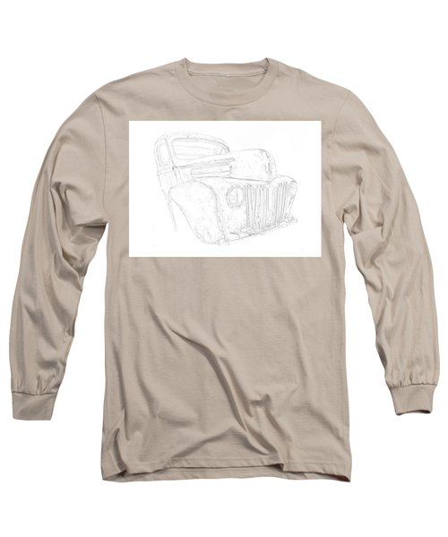 Early Ford Truck Long Sleeve T-Shirt by Jeffrey Jensen