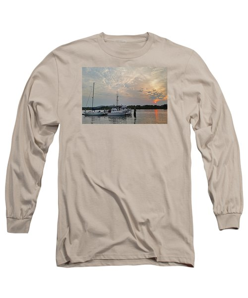 Long Sleeve T-Shirt featuring the photograph Early Morning Calm by Suzy Piatt