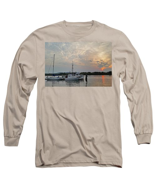 Early Morning Calm Long Sleeve T-Shirt
