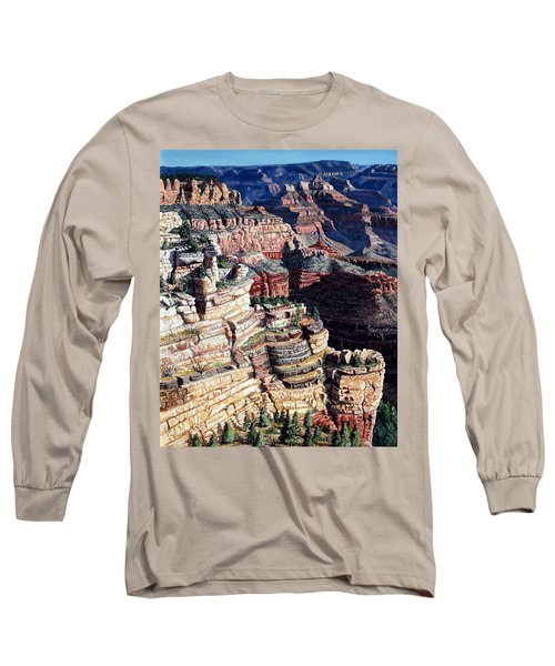 Early Morning From The South Rim Long Sleeve T-Shirt