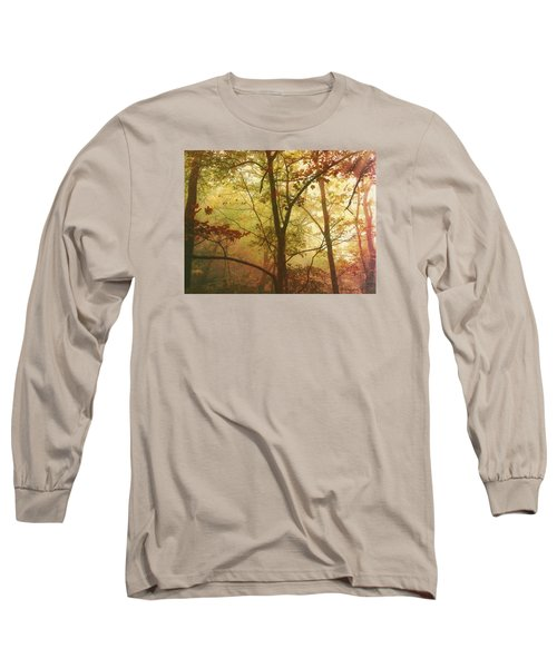 Early Morning Mist Long Sleeve T-Shirt by Bellesouth Studio