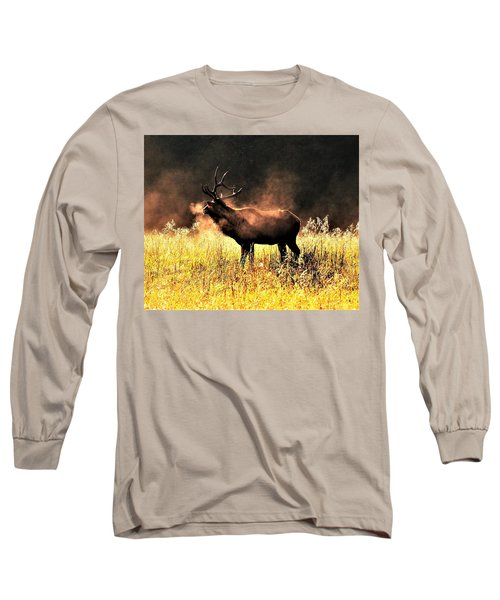 Early Morning Steam Long Sleeve T-Shirt