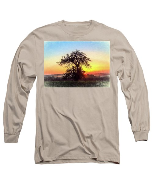 Early Morning Sunrise Long Sleeve T-Shirt by Jim Lepard
