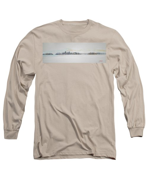 Early Skyline Long Sleeve T-Shirt