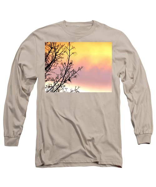 Early Spring Sunset Long Sleeve T-Shirt by Will Borden