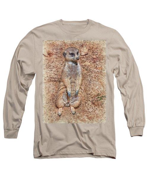 Long Sleeve T-Shirt featuring the photograph Earth Manikin by Hanny Heim
