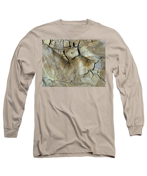 Long Sleeve T-Shirt featuring the photograph Earth Memories-thirsty Earth by Ed Hall