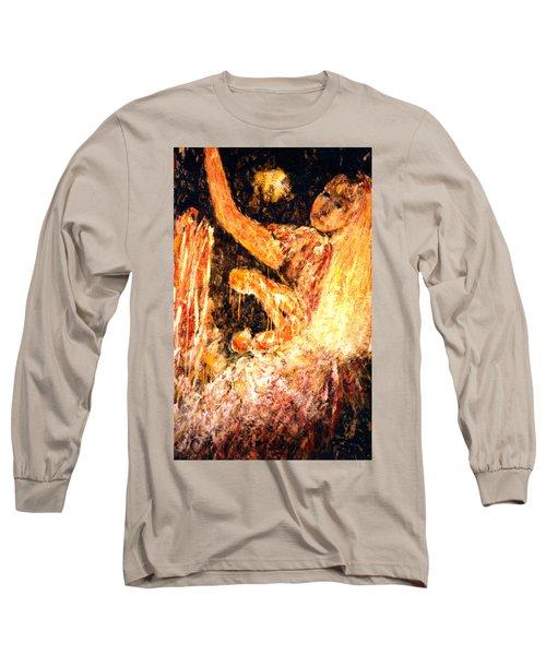 Earthy Goddess Long Sleeve T-Shirt
