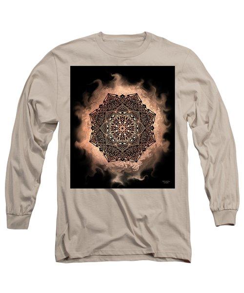 Earthy Mandala Long Sleeve T-Shirt