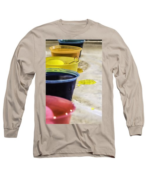 Easter Eggs Long Sleeve T-Shirt