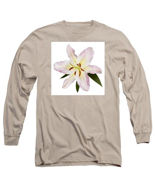 Easter Lilly 1 Long Sleeve T-Shirt by Tony Cordoza