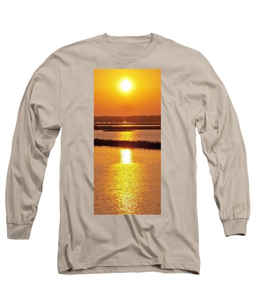 Long Sleeve T-Shirt featuring the photograph Easter Sunset Southwest Louisiana by John Glass
