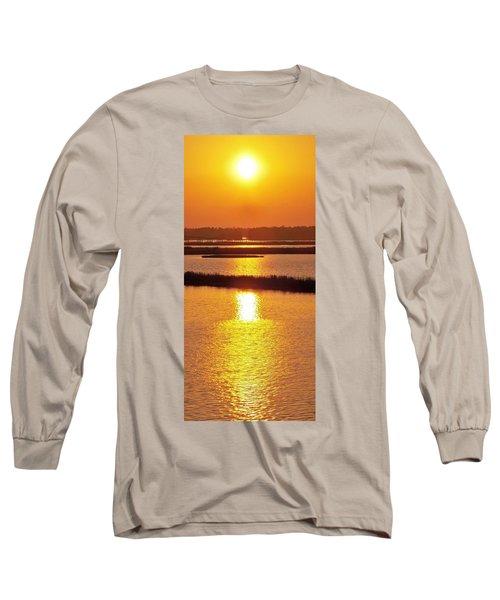 Easter Sunset Southwest Louisiana Long Sleeve T-Shirt