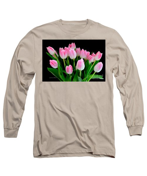 Easter Tulips  Long Sleeve T-Shirt by Jeannie Rhode
