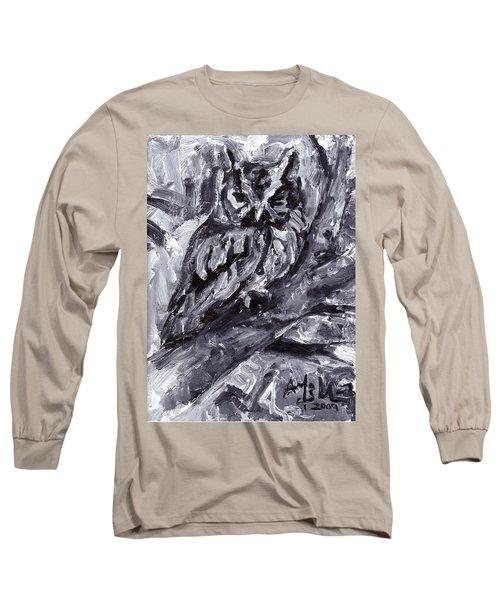 Eastern Screech-owl Long Sleeve T-Shirt