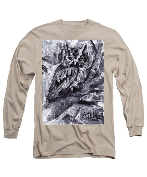Eastern Screech-owl Long Sleeve T-Shirt