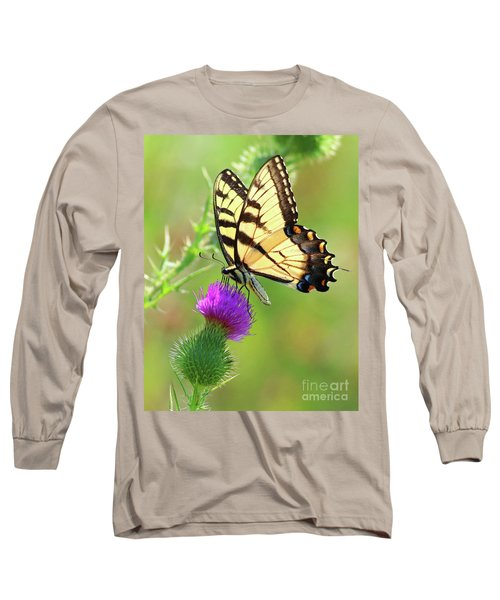 Eastern Tiger Swallowtail Long Sleeve T-Shirt