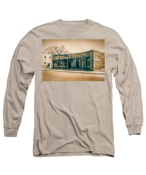 Eat And Drink Long Sleeve T-Shirt