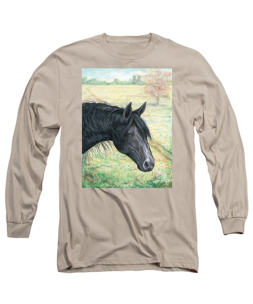 Ebony Long Sleeve T-Shirt