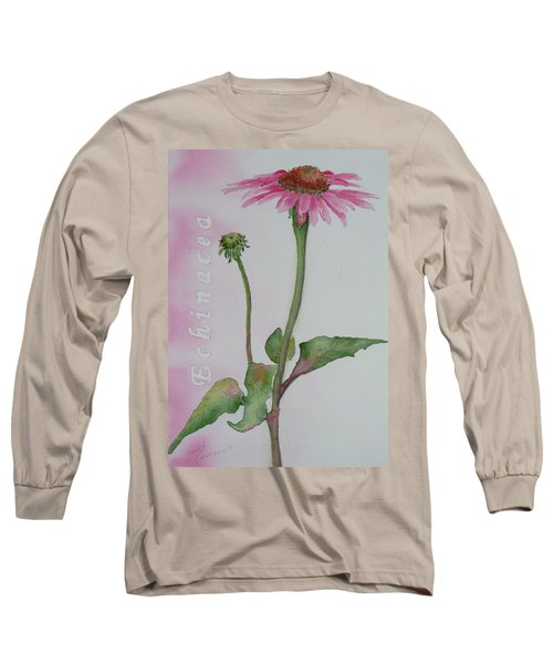 Echinacea Long Sleeve T-Shirt
