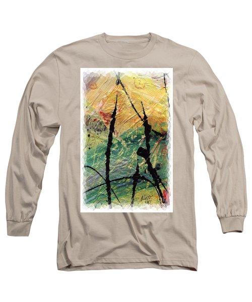 Ecstasy II Long Sleeve T-Shirt by Angela L Walker
