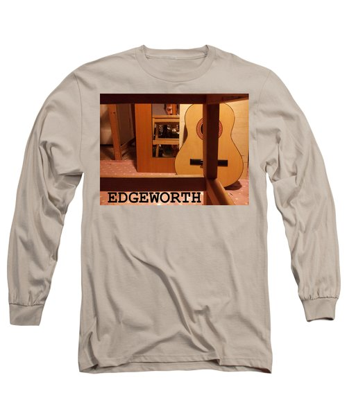 Edgeworth Acoustic Guitar Long Sleeve T-Shirt