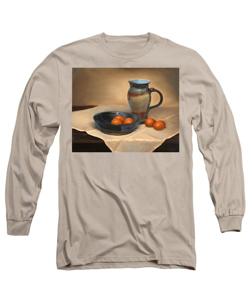 Eggs And Pitcher Long Sleeve T-Shirt