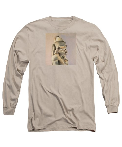 Egyptian Study Long Sleeve T-Shirt by Elizabeth Lock