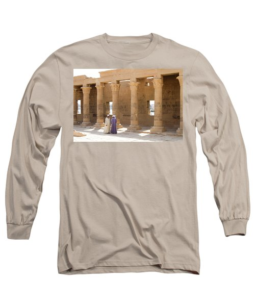 Egyptians Long Sleeve T-Shirt by Silvia Bruno