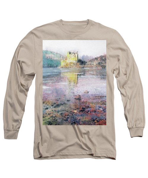 Eilean Donan Castle  Long Sleeve T-Shirt by Richard James Digance