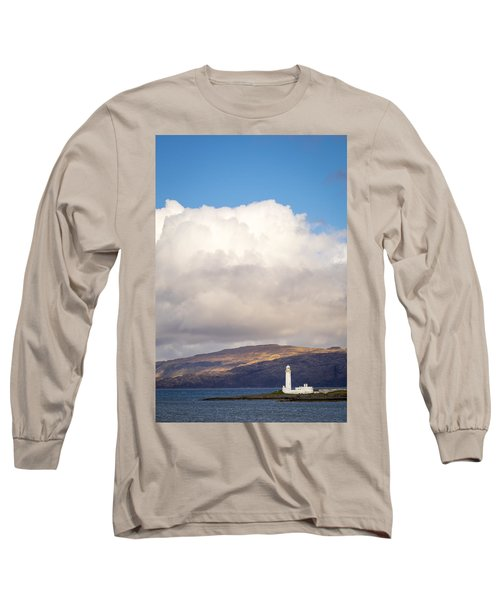Eilean Musdile Lighthouse On Lismore Long Sleeve T-Shirt