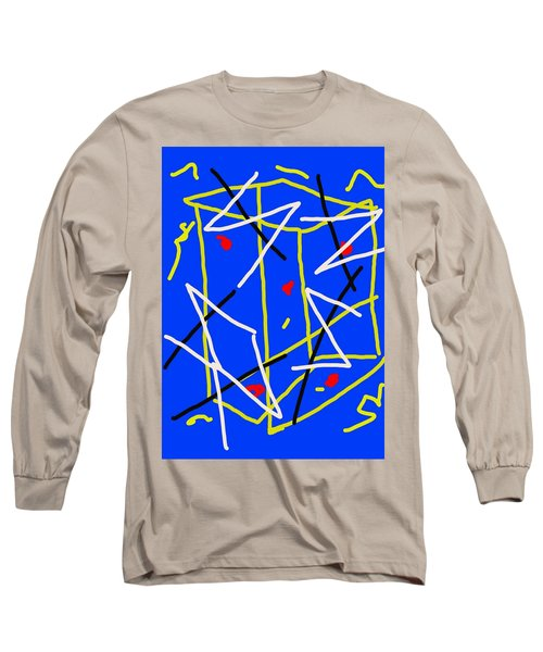 Electric Midnight Long Sleeve T-Shirt by Paulo Guimaraes