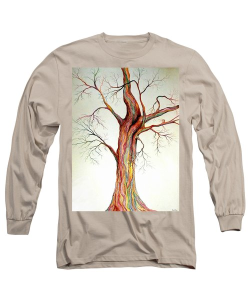 Electric Tree Long Sleeve T-Shirt