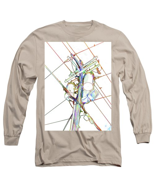 Electricity Post  Long Sleeve T-Shirt