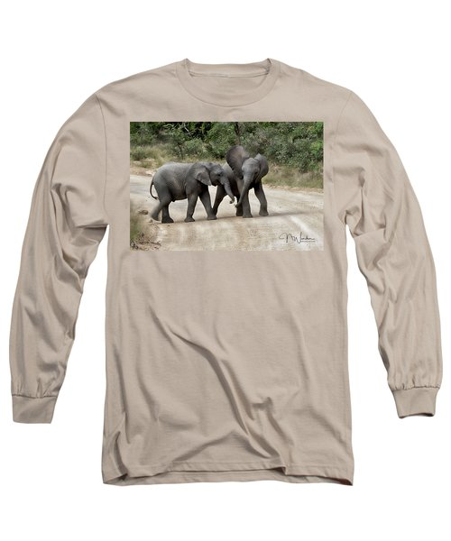 Elephants Childs Play Long Sleeve T-Shirt