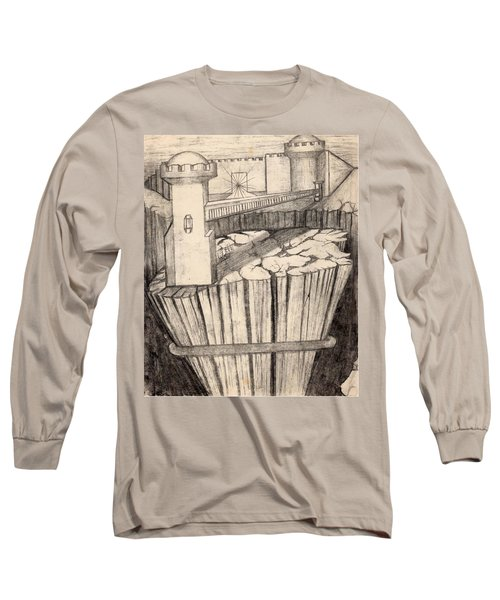Elevator To Heaven Long Sleeve T-Shirt
