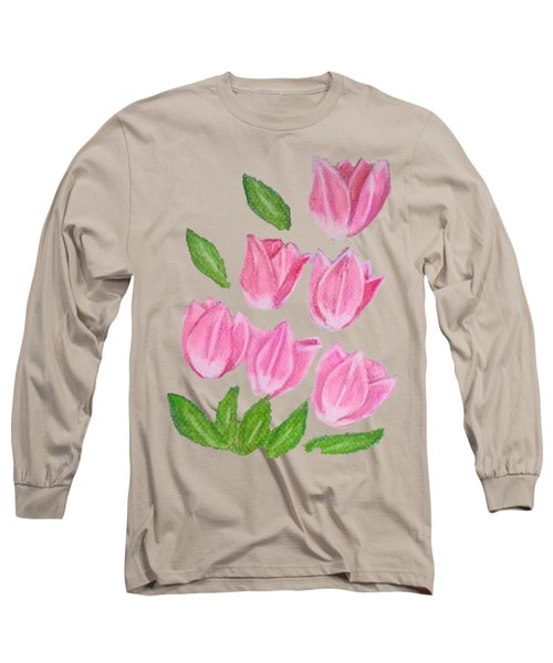 Elite Tulips Long Sleeve T-Shirt