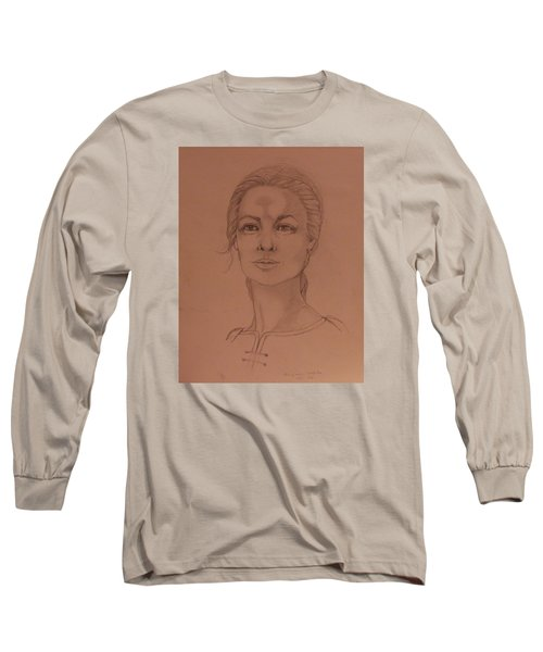 Elizabeth The White Queen Long Sleeve T-Shirt